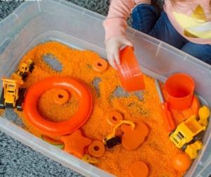 giochi con la sabbia autismo