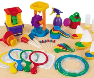 set gioco acqua bambini autistici